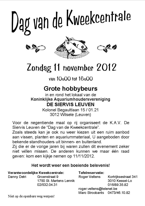 Affiche Kweekcentrale 2012